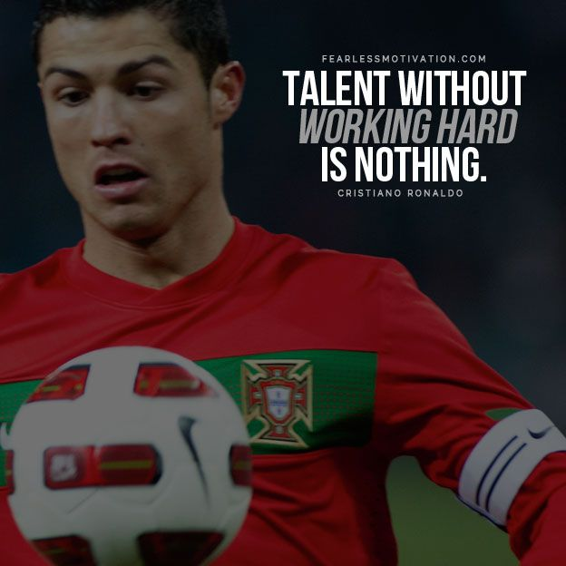 Amazing Cristiano Ronaldo Quotes Talent