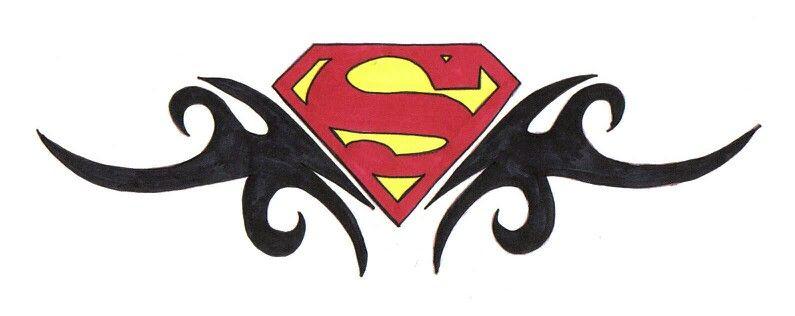 Tattoo Superman Tattoos Superman Art Tribal Design