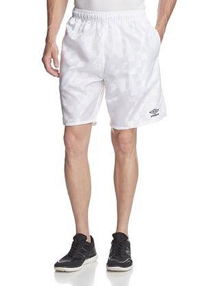 3a38eaa656 39% OFF Umbro Men's Checkerboard Shorts (White) | Men's Clothing ...