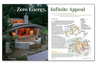 House · Zero Energy .
