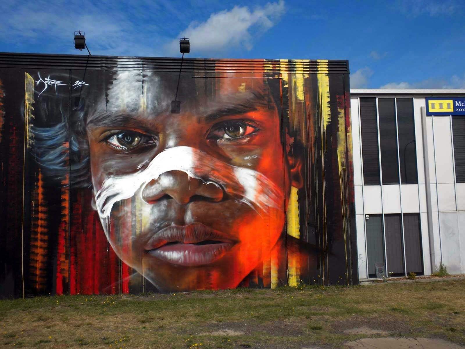 Adnate Urban Art Street Art Best Street Art