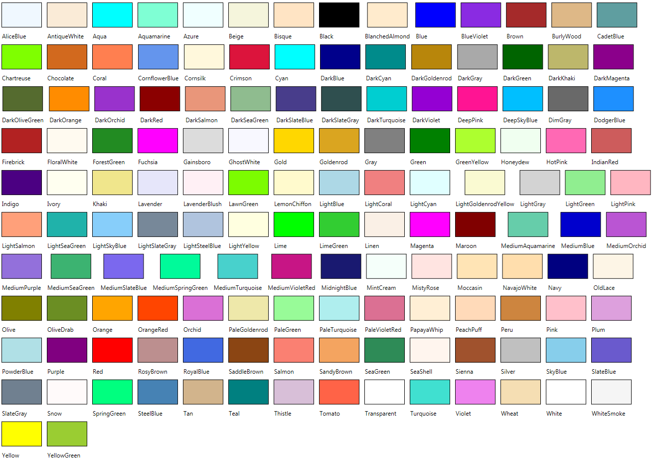 Crayola color chart with names 547 specifying colors by name crayola color chart with names 547 specifying colors by name in blend nvjuhfo Images