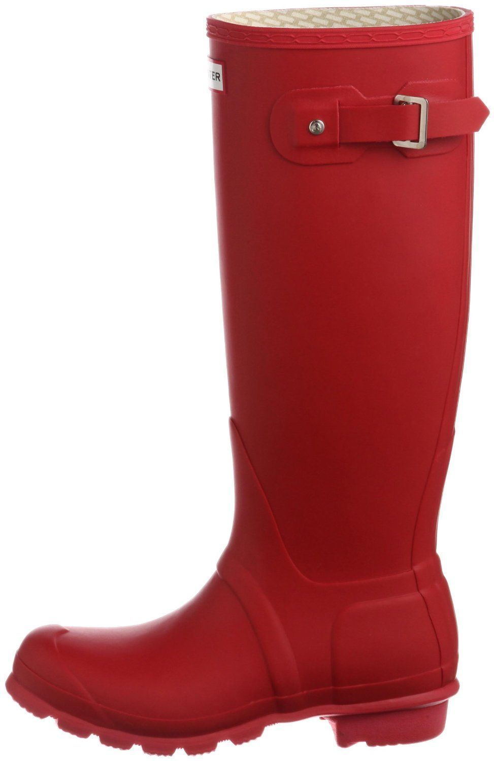 #Hunter Unisex Original Tall Colours #Wellington #Boot Red.
