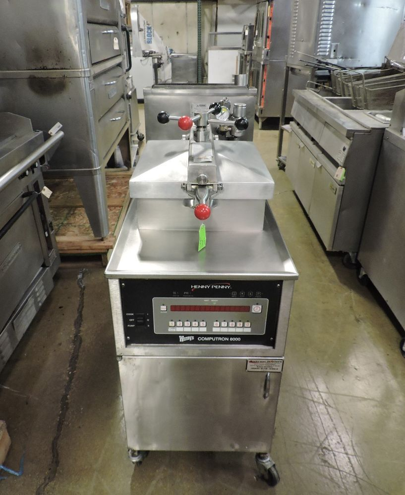 Henny Penny 600rb Pfg 600 Commercial Gas Pressure Fryer Hennypenny