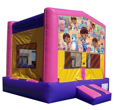 C) Doc McStuffins Bounce House - Bounce Houses