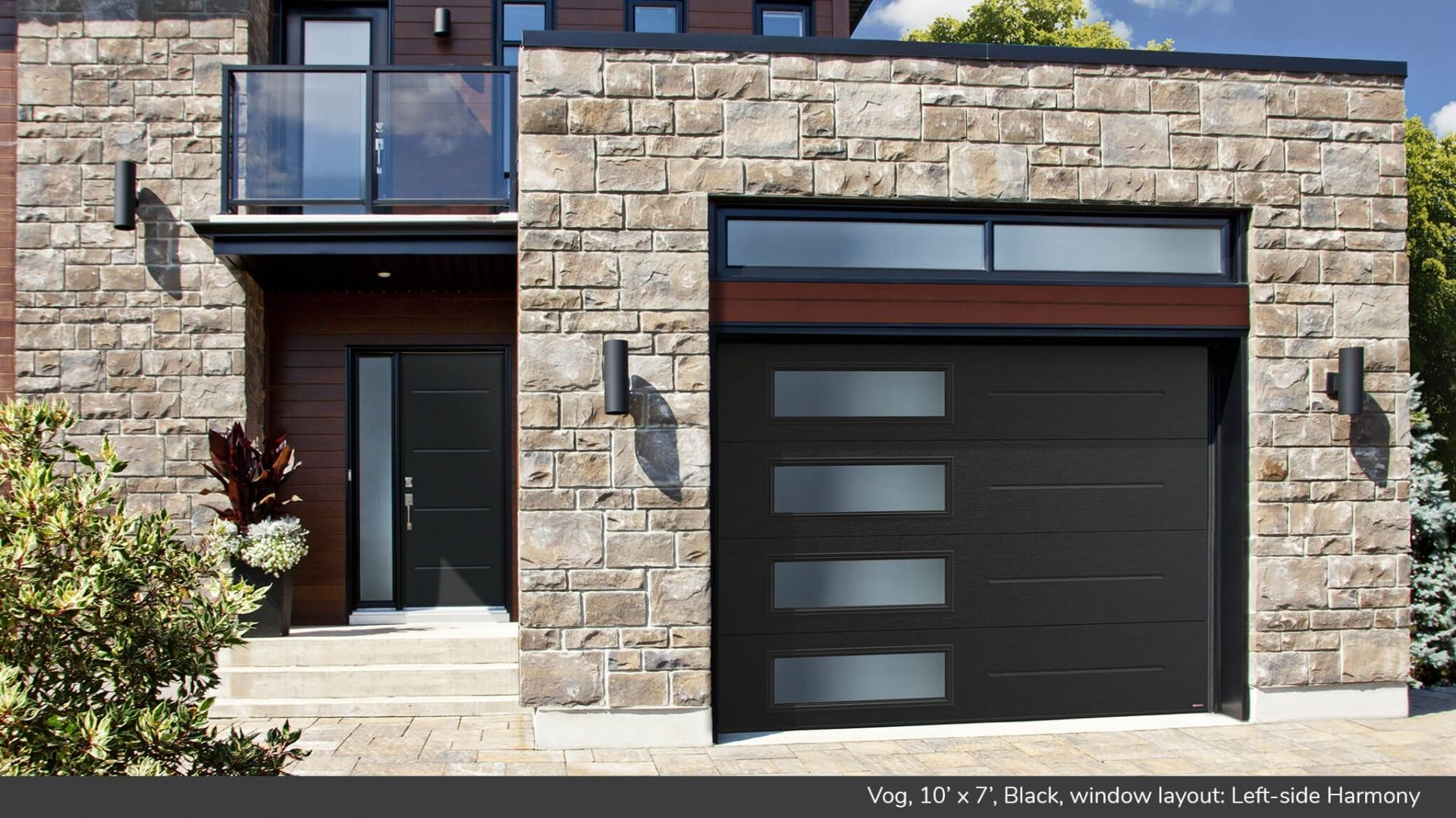 Looking For A Modern And Contemporary Look For Your Home Contemporary Garage Doors Garage Door Design Modern Garage Doors