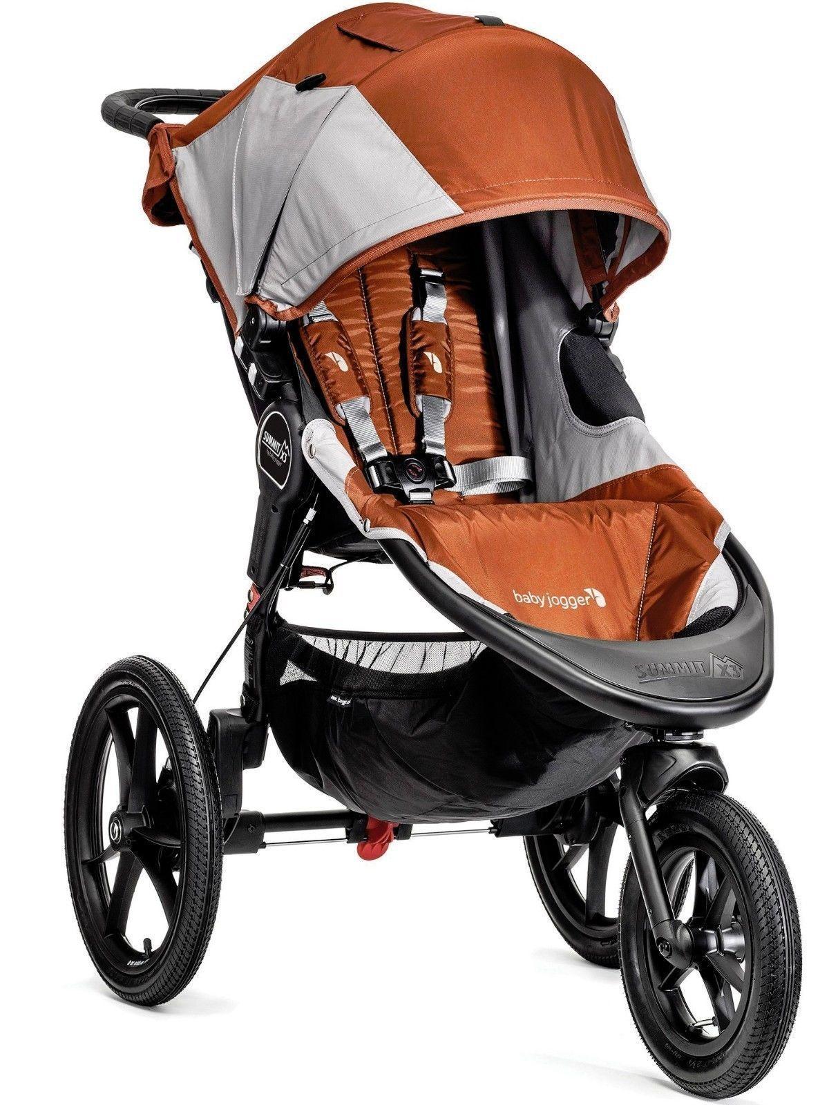 Baby Jogger Summit X3 Jogging troller Orange / Gray NEW