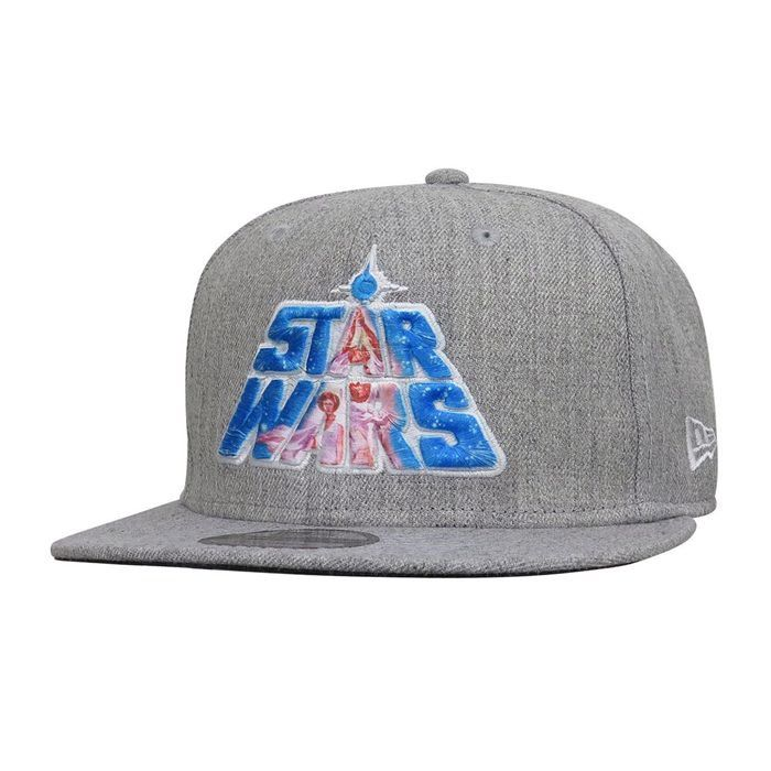 c797e3e91eb Star Wars 40th Logo Heather 9Fifty Adjustable Hat