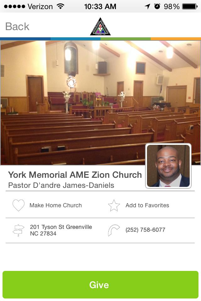 York Memorial Ame Zion Church In Greenville North Carolina Givelifychurches Church Donation Website Raise Money Online