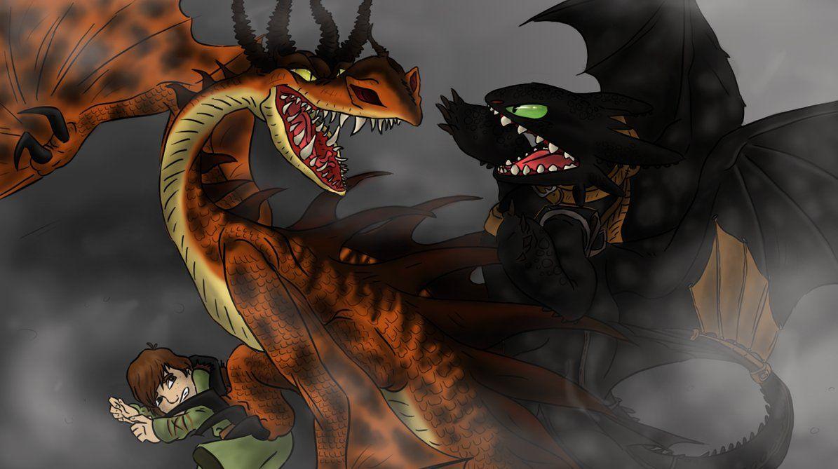 fury vs nightmare by chibignoufs.deviantart.com on @DeviantArt