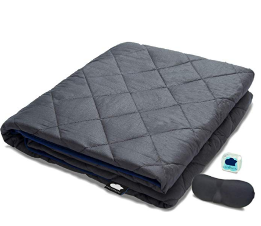 Dreamality Weighted Blanket 20 Lbs Cotton 60 X80 Adult Full Queen