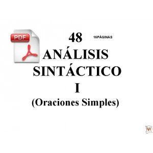 Cuaderno De Ejercicios Resueltos De Análisis Sintáctico De