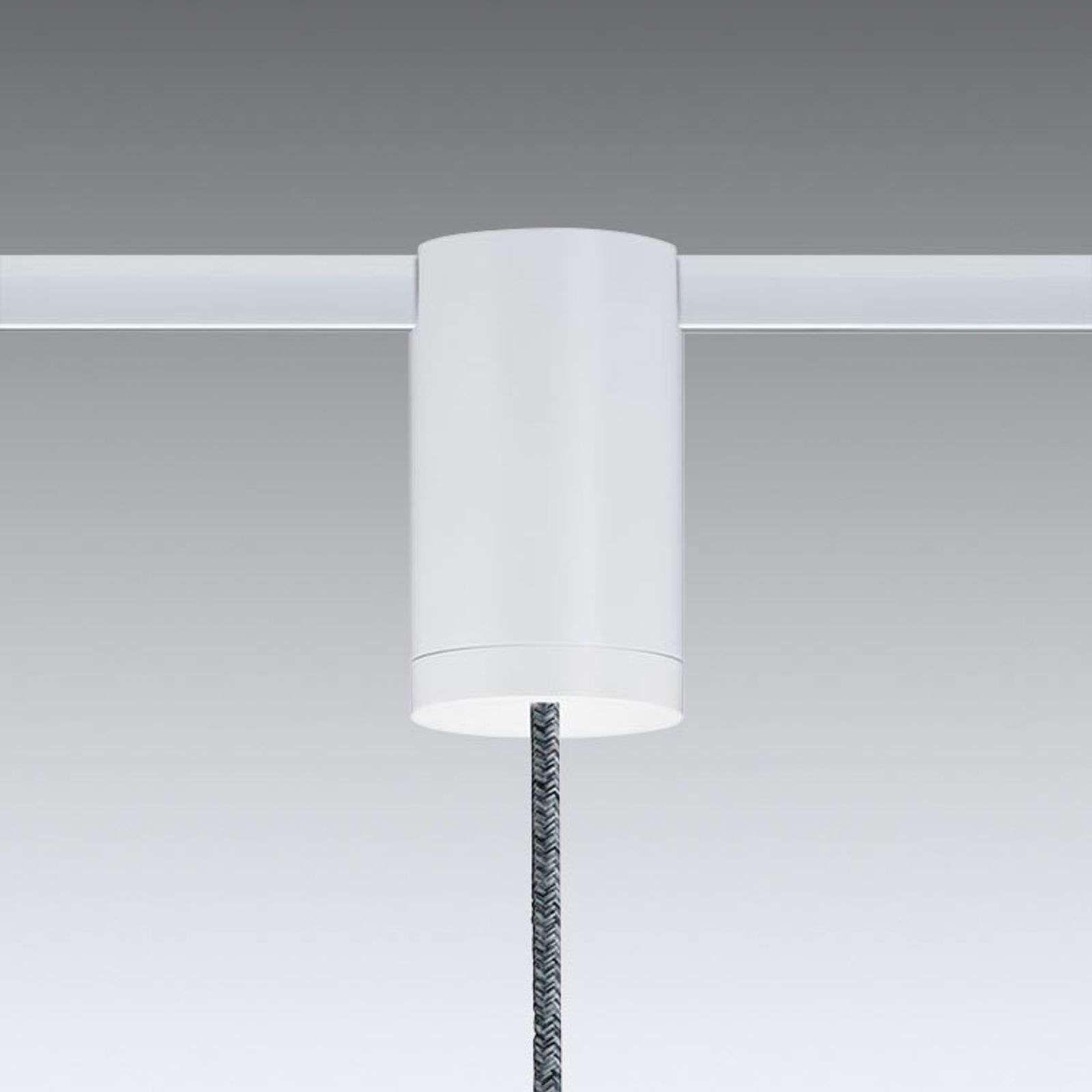 Flex Pendeladapter Voor Urail Railsysteem Wit In 2020 Wit Binnenverlichting Metaal