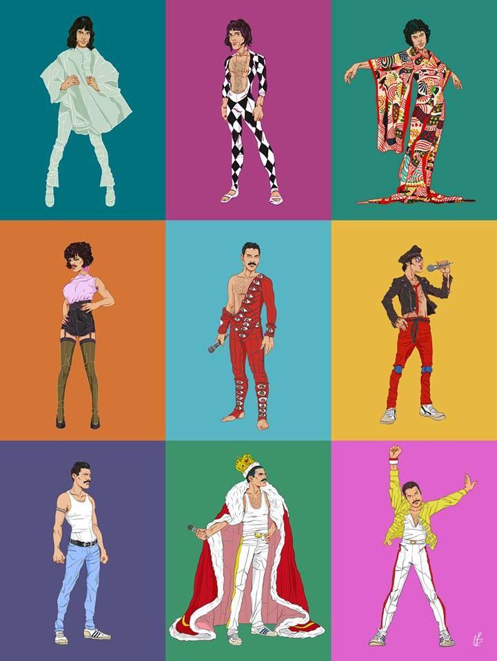 Freddie's Bohemian Grid