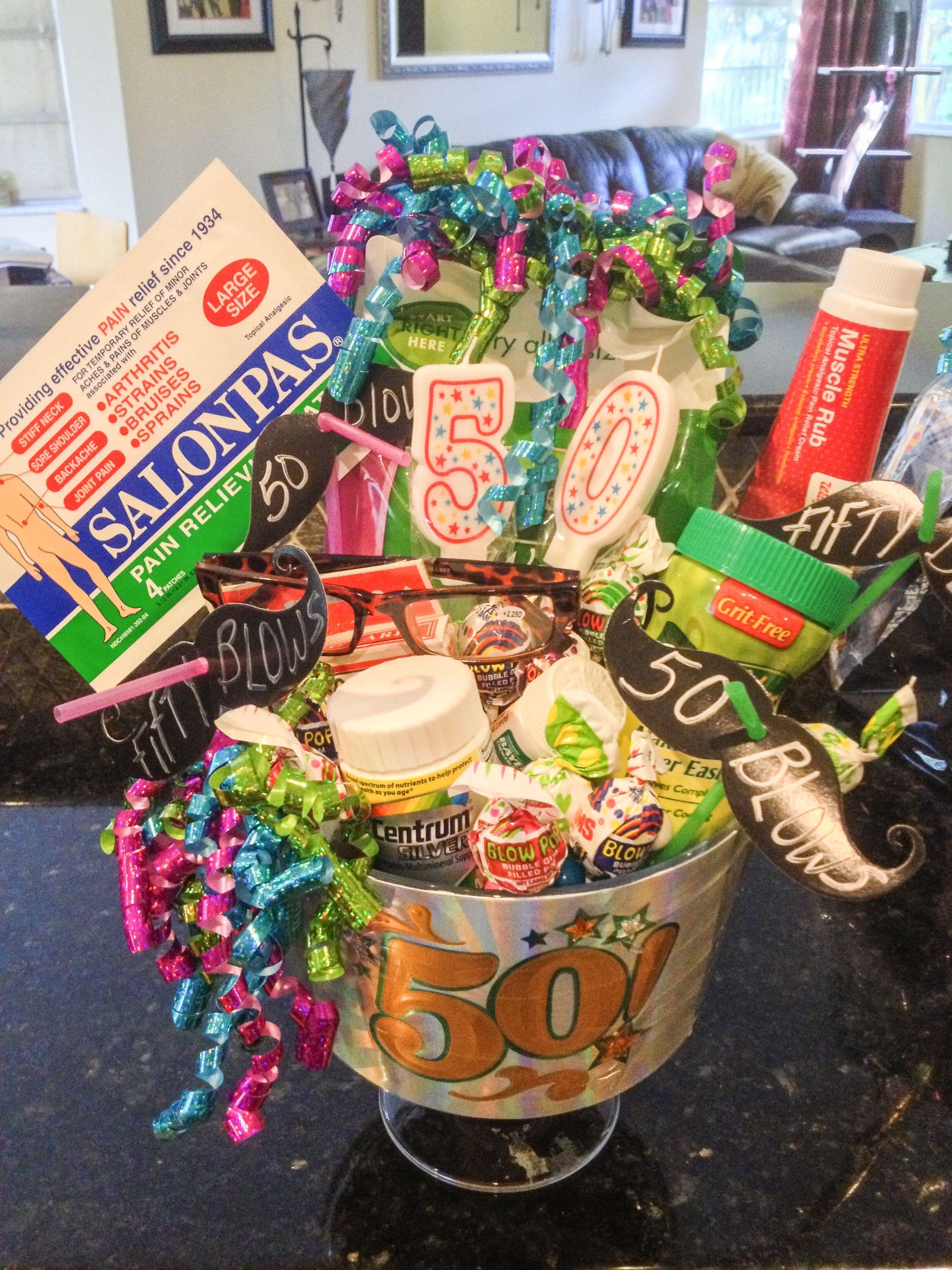 Birthday 50th Gift Ideas