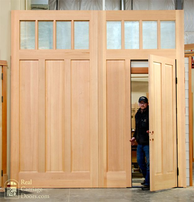 Large carriage doors with wicket door & Large carriage doors with wicket door | Barn Exteriors | Pinterest ... pezcame.com