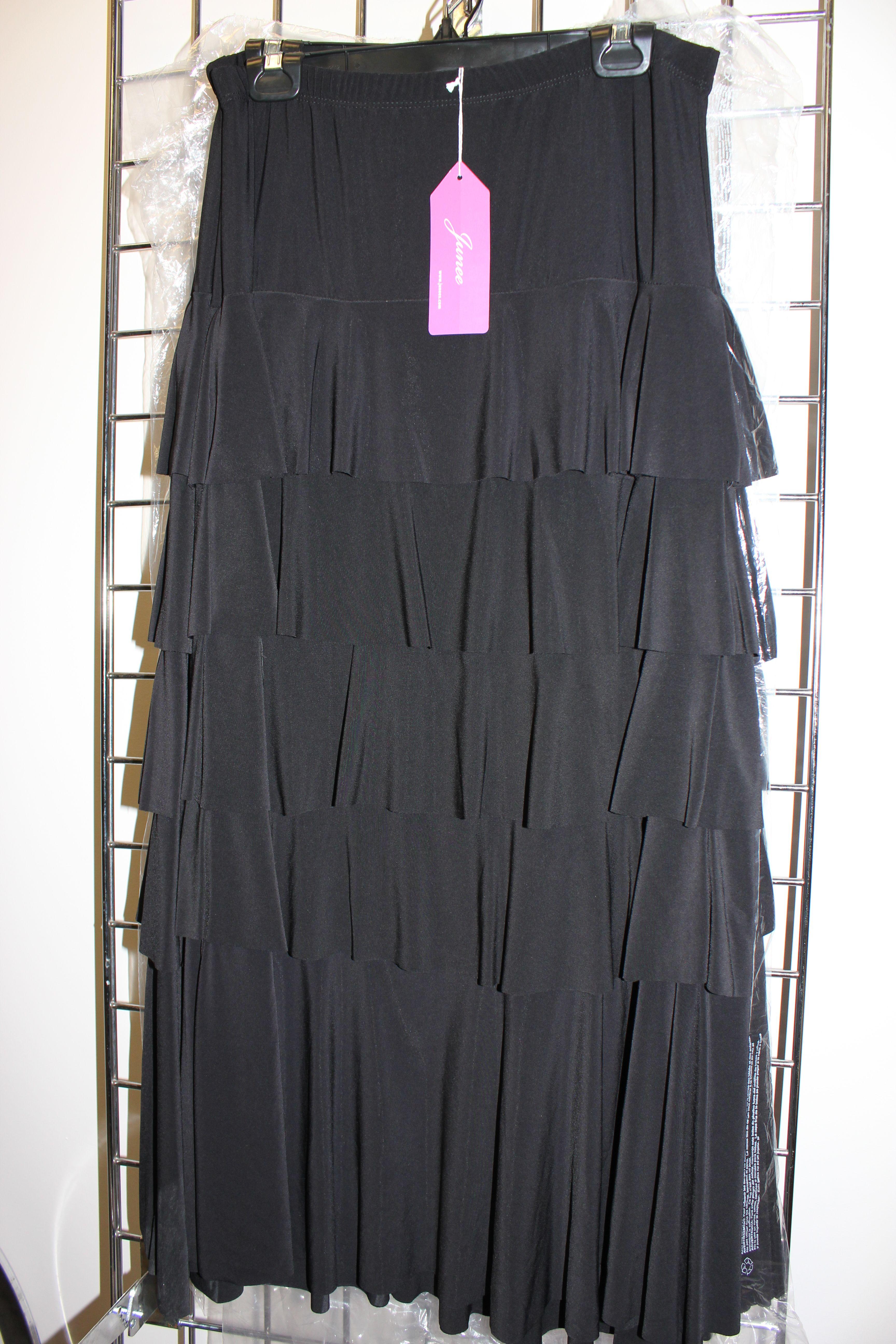 ITY fabric long ruffle skirt | Apostolic Clothing | Pinterest
