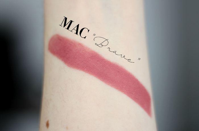 MAC Brave Swatch