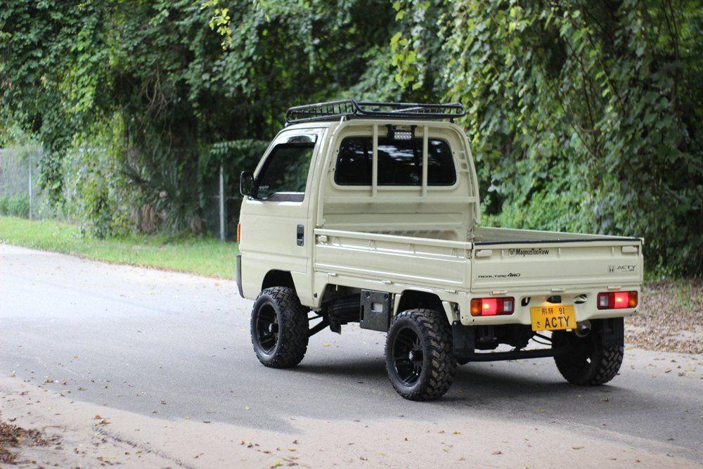 1990 Honda Acty Sdx 4x4 Nippon Imports In 2020 Mini Trucks Honda Monster Trucks