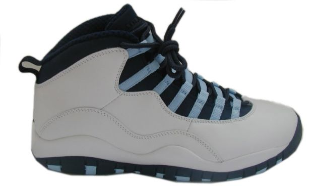 reputable site bc77e bd00f Air Jordan 9 (IX) Retro Low-White Black Blue Pearl 310805-141
