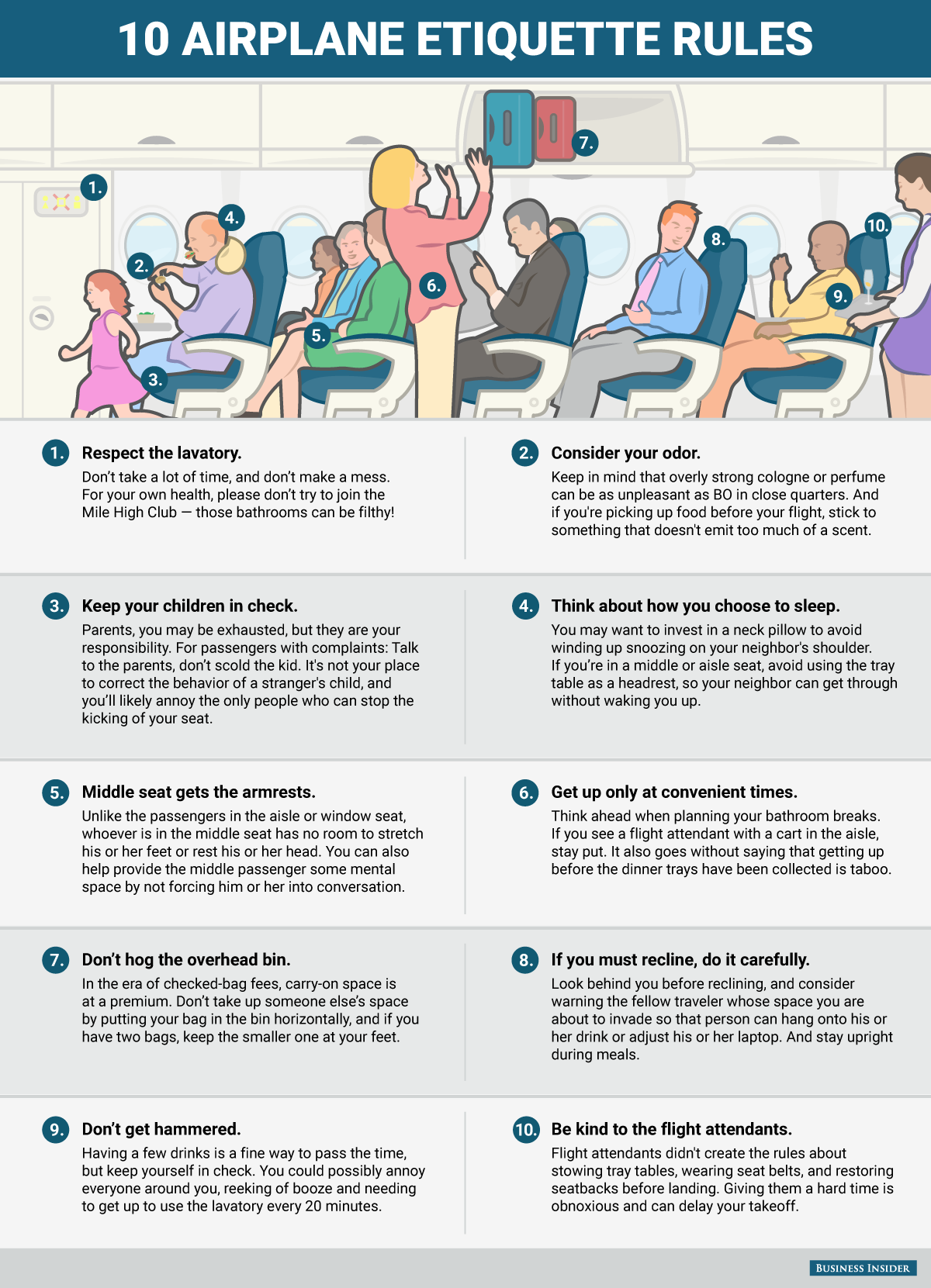 Pack These 10 Airplane Etiquette Rules The Next Time You