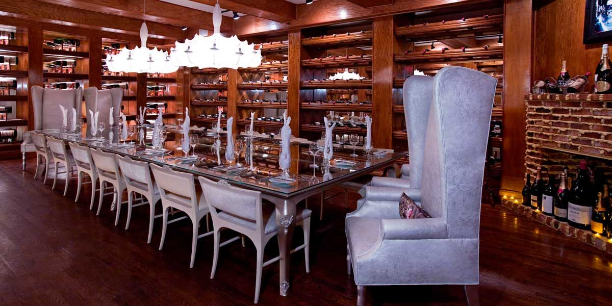 Reserve Your Private Dinner In The Forge S Legendary Wine Cellar Miami Beach Call 305 538 8533