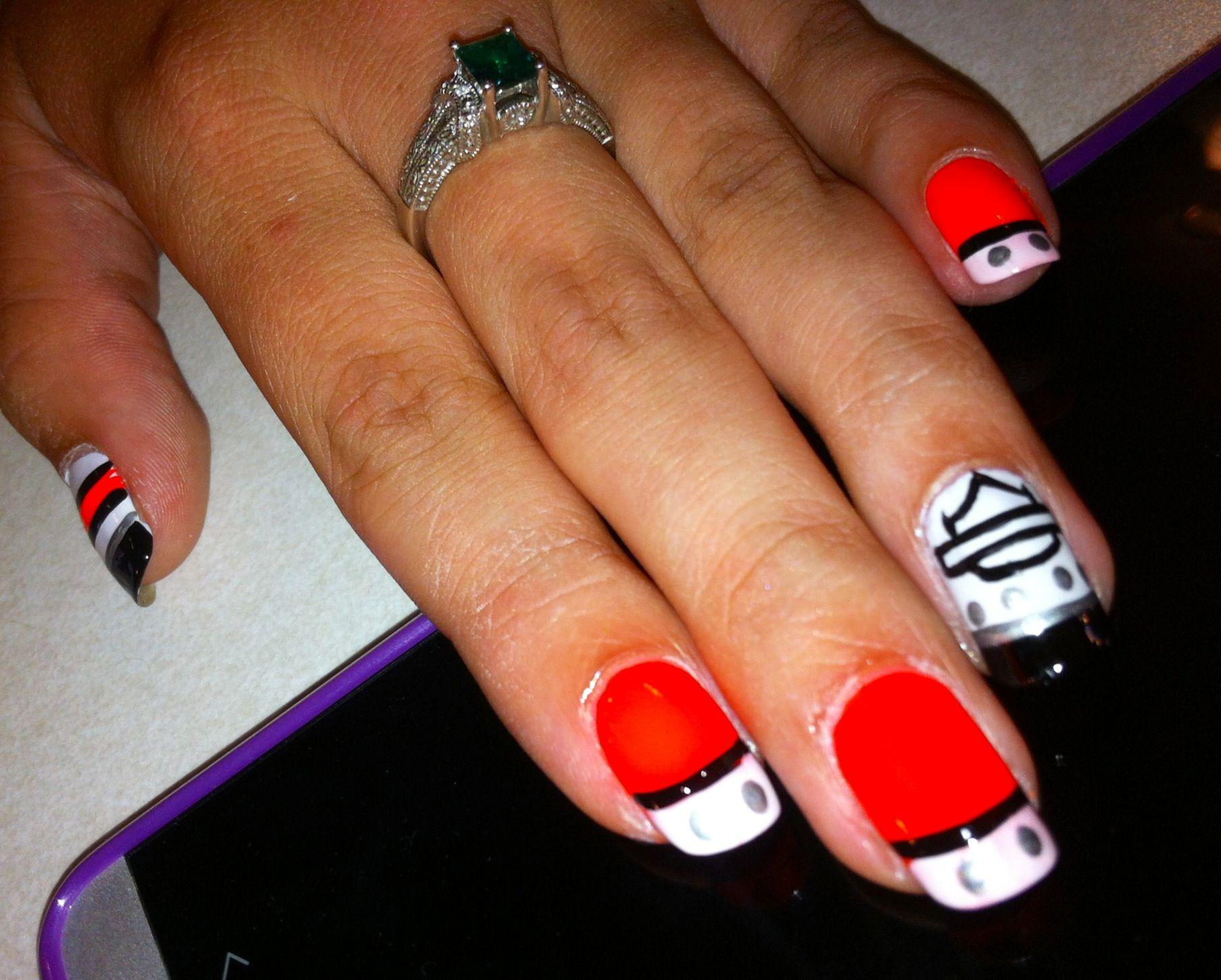 painted nail designs/ harley davidson | nails | pinterest | harley