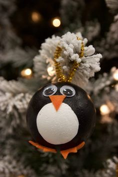 DIY Penguin Ornament