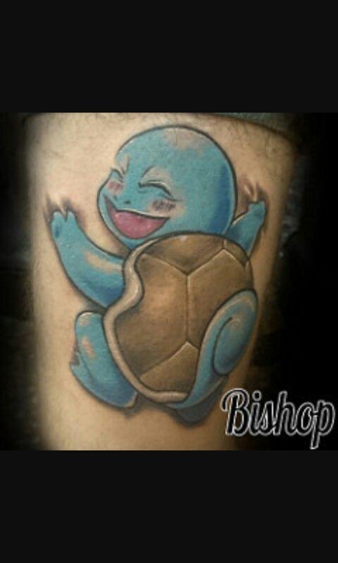 Future tattoo #Squirtle #Pokemon #Hug #BishopTattoo # ...