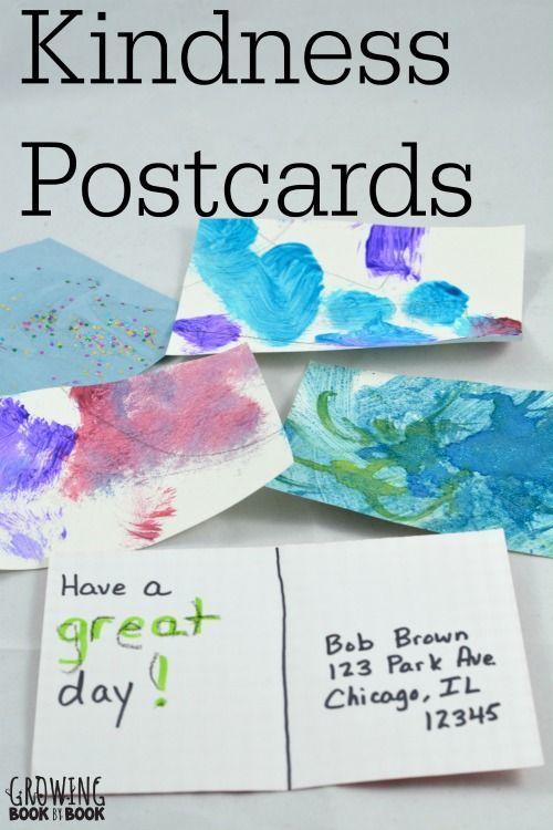 Writing Activities: Kindness Postcards | Writing ...