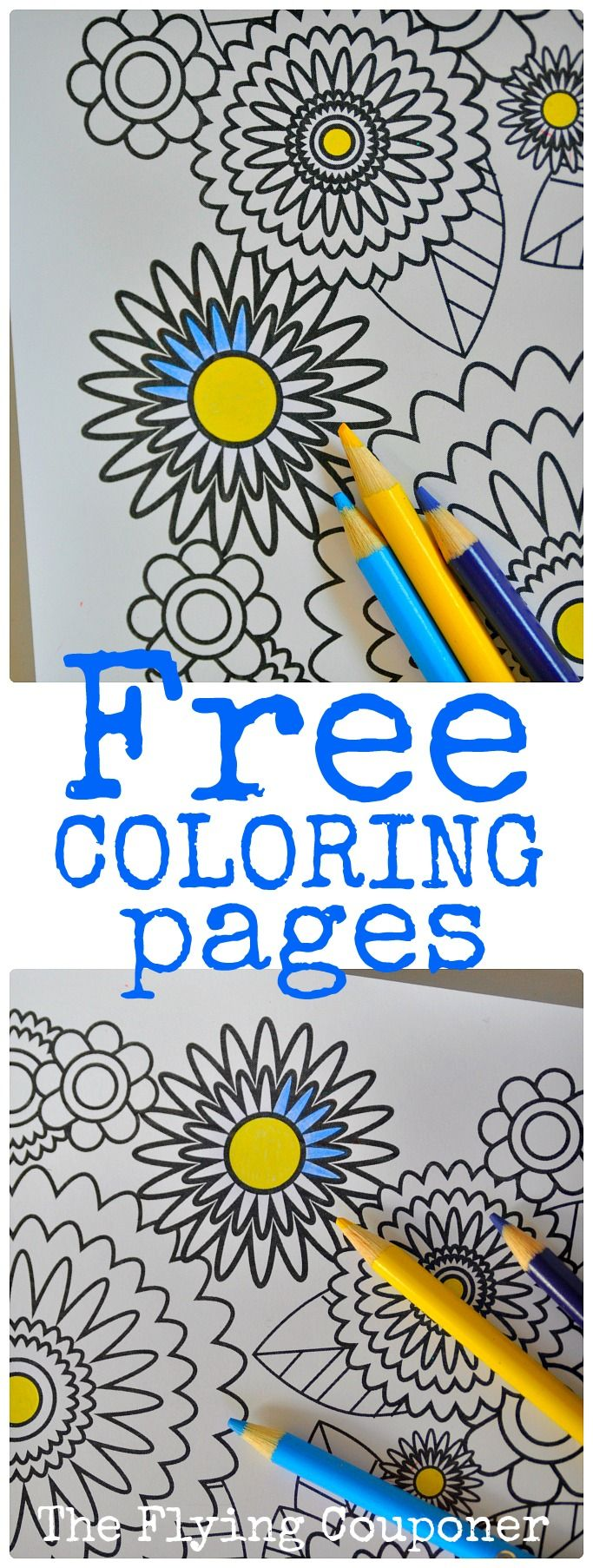 Colouring Pages for Adults and Kids | The Flying Couponer ...