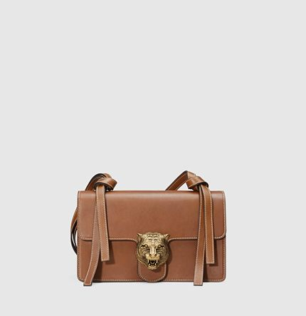 9879fce4d3 Gucci - animalier leather shoulder bag 412007CWJ0T2535 | Bags in ...