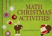 Math Christmas Activities product from Miss-N on TeachersNotebook.com