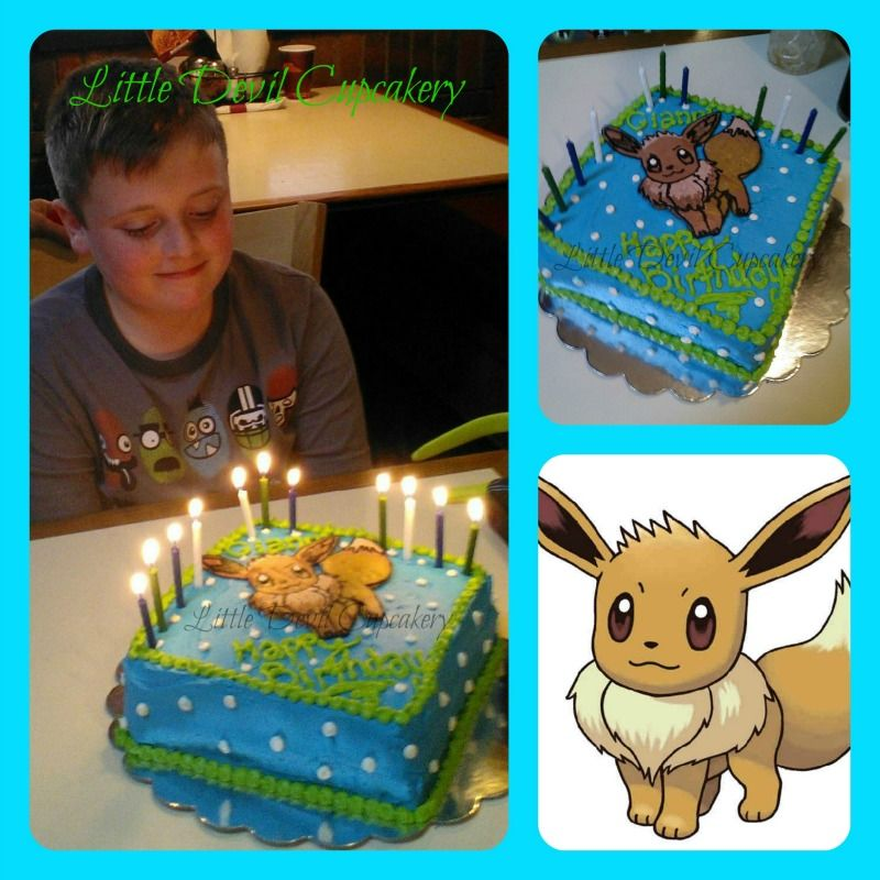 Eevee Cake Little Devil Cupcakery Pinterest Cake