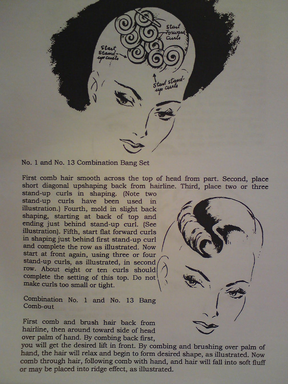 Pin Curl Diagram 4age Distributor Wiring Curls Vintage Hair How To Pinterest