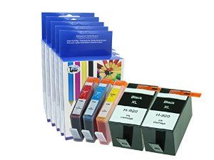 Amazon 9 99 Befor Sept 18th 5 Chipped Compatible Hp 920xl Ink Cartridges 1 Set Plus 1 Extra Black For Hp 6000 6 Ink Cartridge Toner Cartridge Cartridges