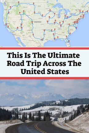 Photo of According To Science, This Is The Ultimate Road Trip Across The United States