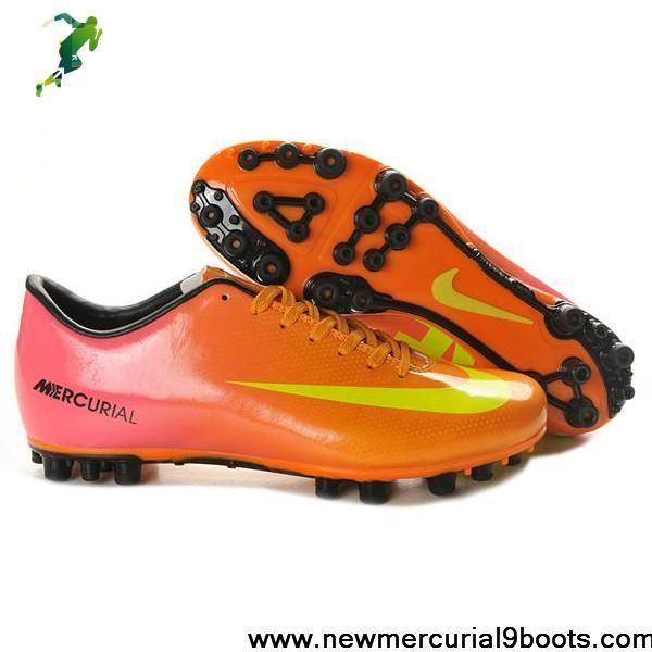 check out c1e13 76176 ... best price nike mercurial vapor ix ag shoes orange pink yellow d2df7  88060