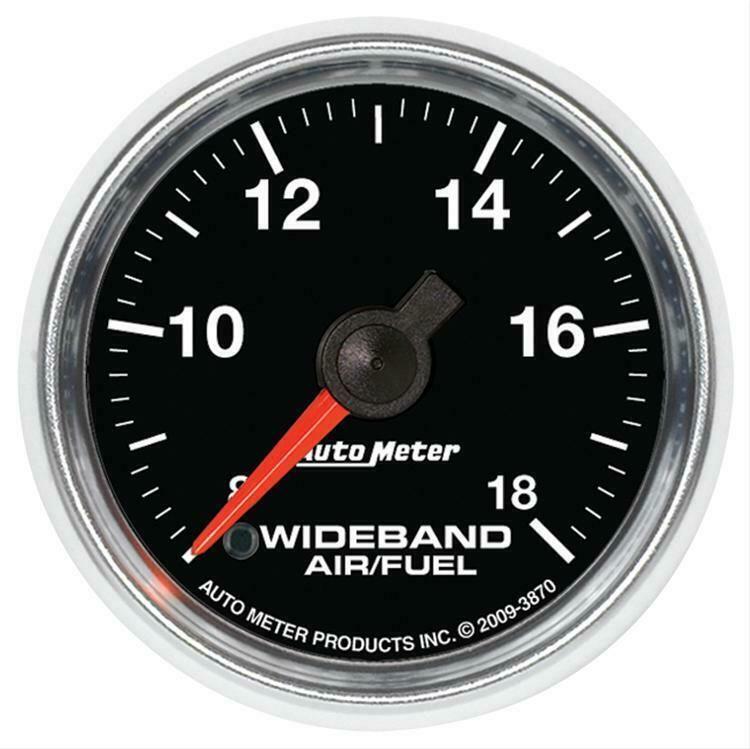 Autometer Gs Electrical Air Fuel Ratio Gauge 2 1 16 Dia Black Face 3870 Gauges Premium Cars Pressure Gauge