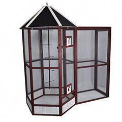 Discover how to build an aviary in a single day with ...