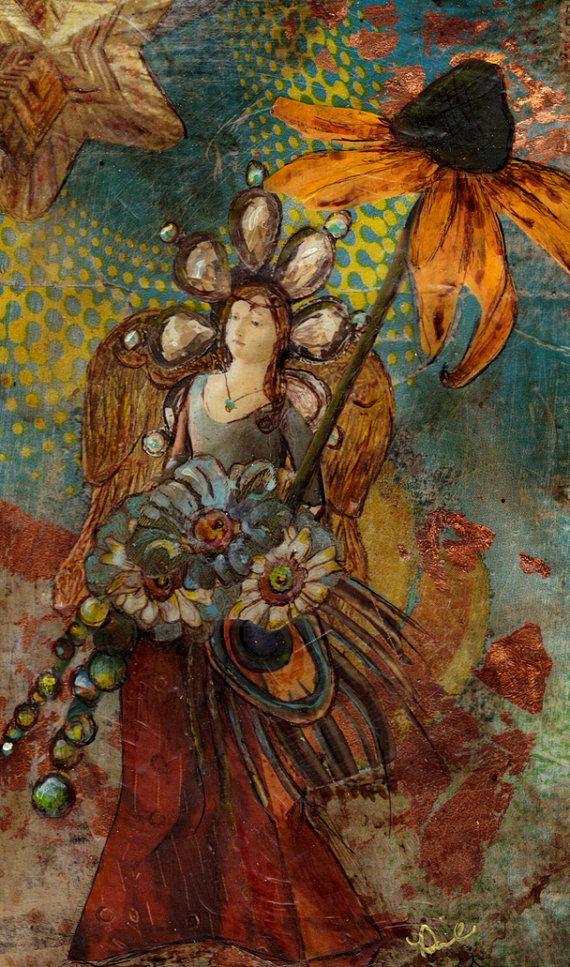 Angel Decor Raziel Holds the Secrets of the Universe door CHUGZ,
