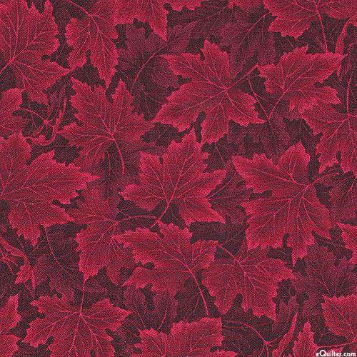 Nature's Tonal - Maple Leaf Drift - Wine