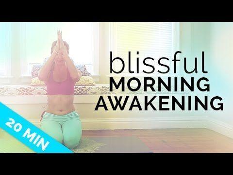 morning yoga routine for beginners blissful awakening for