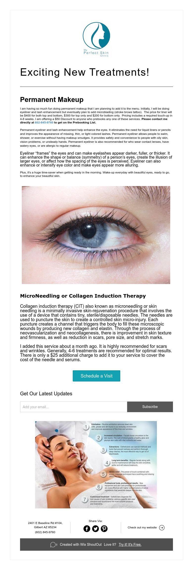 Exciting new treatments permanent makeup permanent