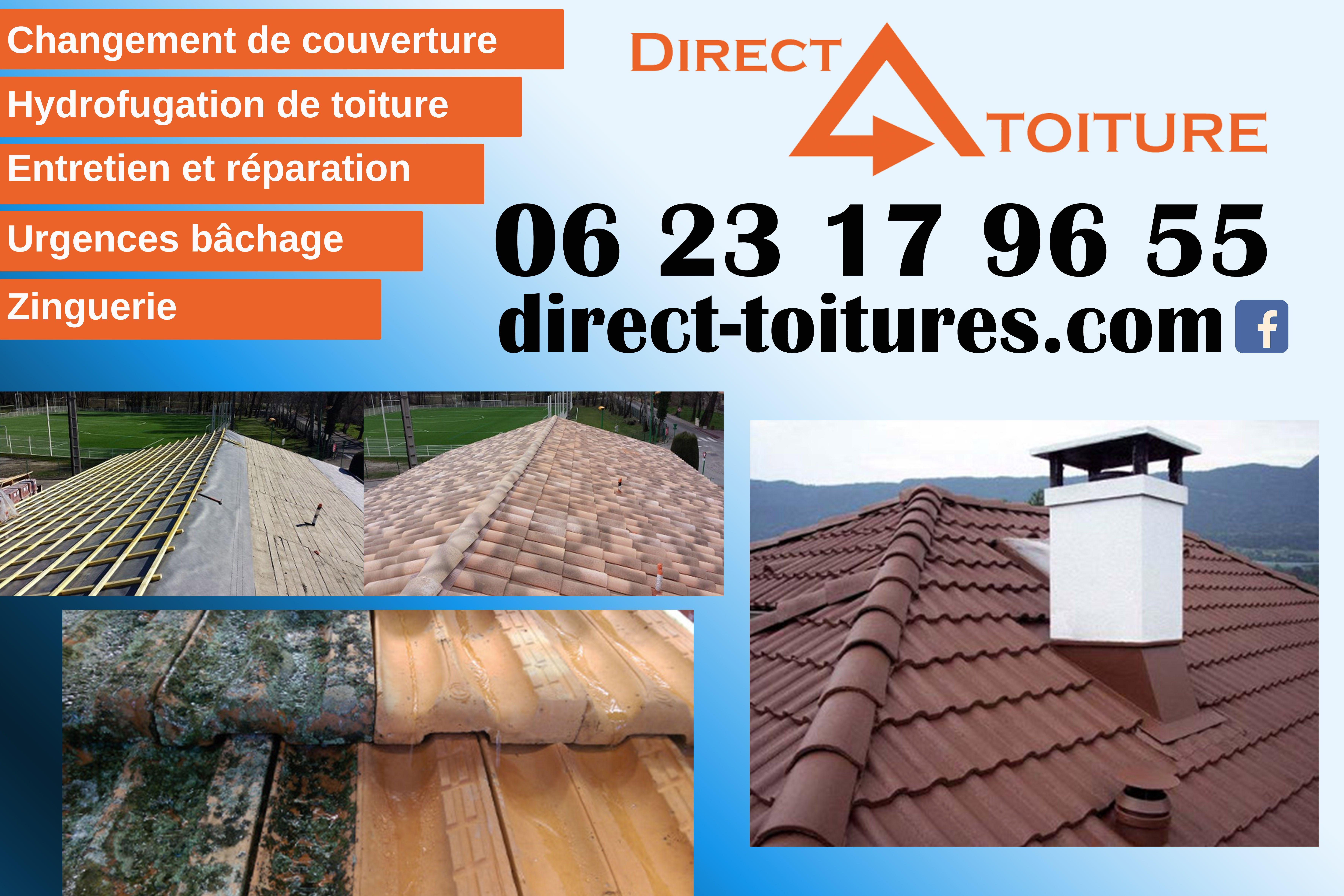 Direct Toiture Toiture Reparation Toiture Ecran Sous Toiture