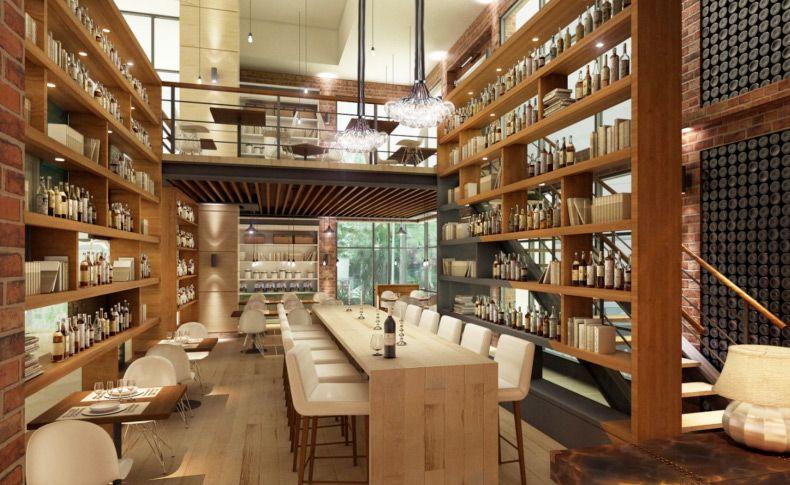 Mediterranean restaurant concept design kuala lumpur