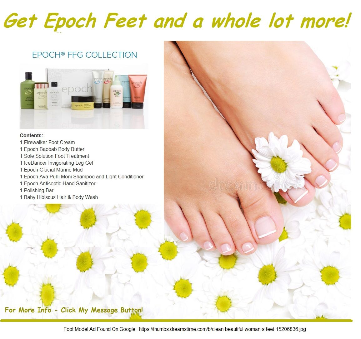 Epoch Ffg Collection Feet Treatment Foot Cream Glacial Marine Mud
