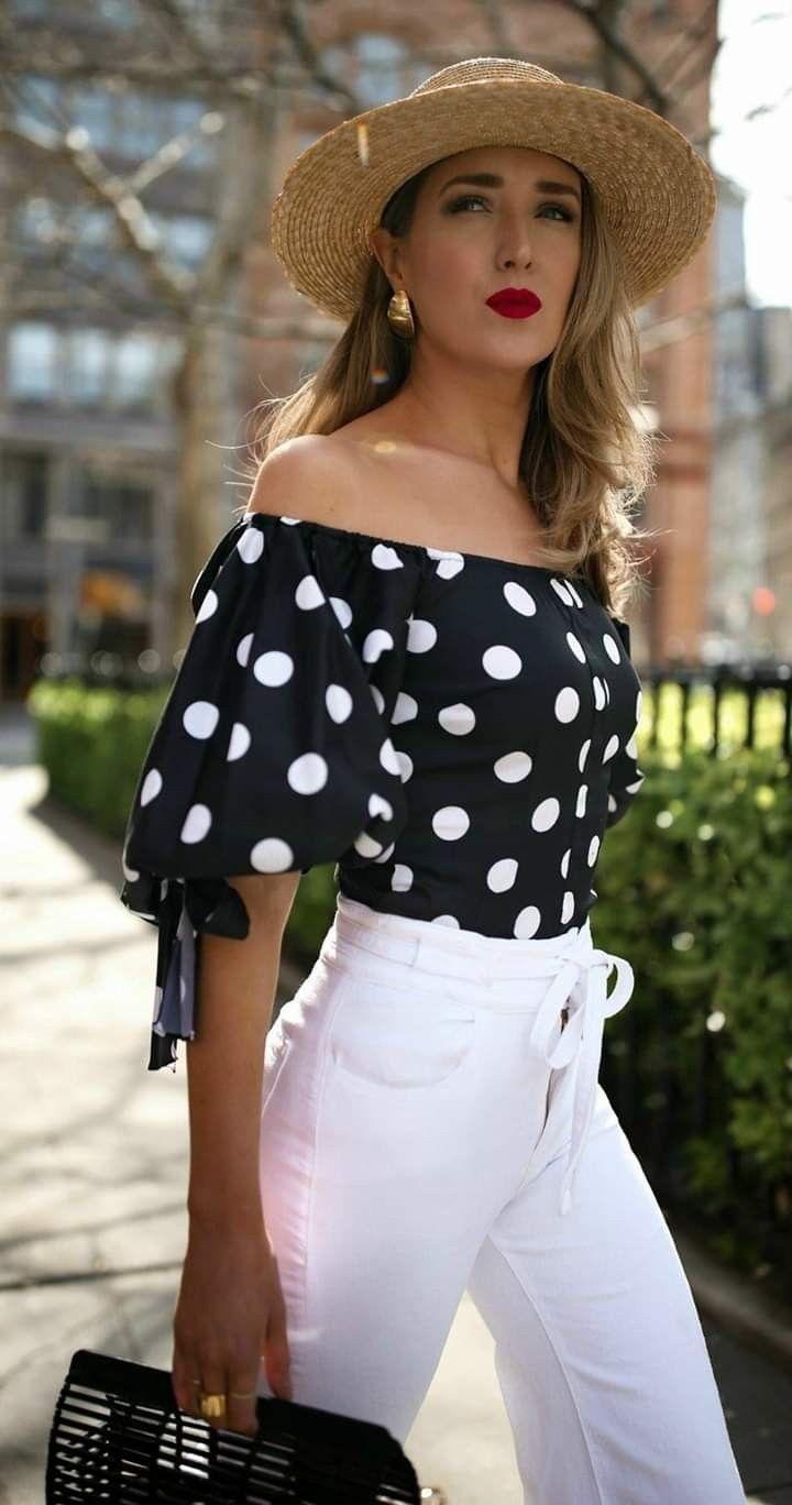 Idea de Lina Alfonso en moda en 2020 | Blusas campesinas ...