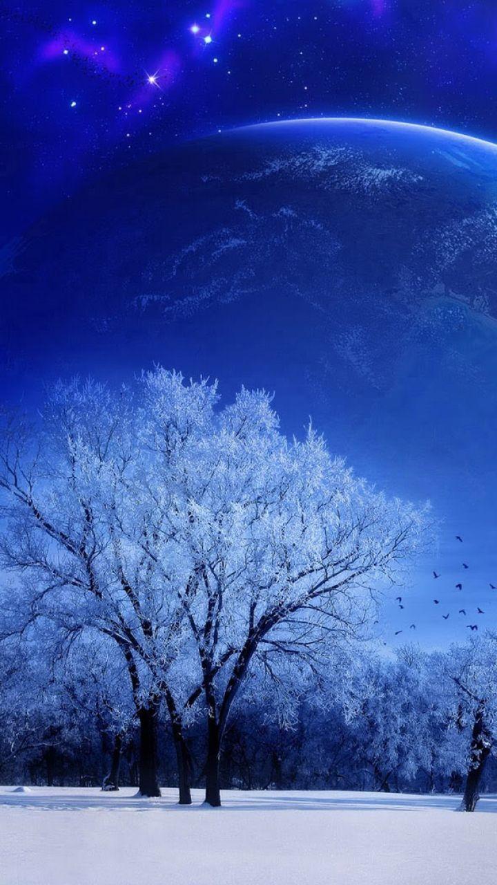 красивые зимние картинки для самсунг важный
