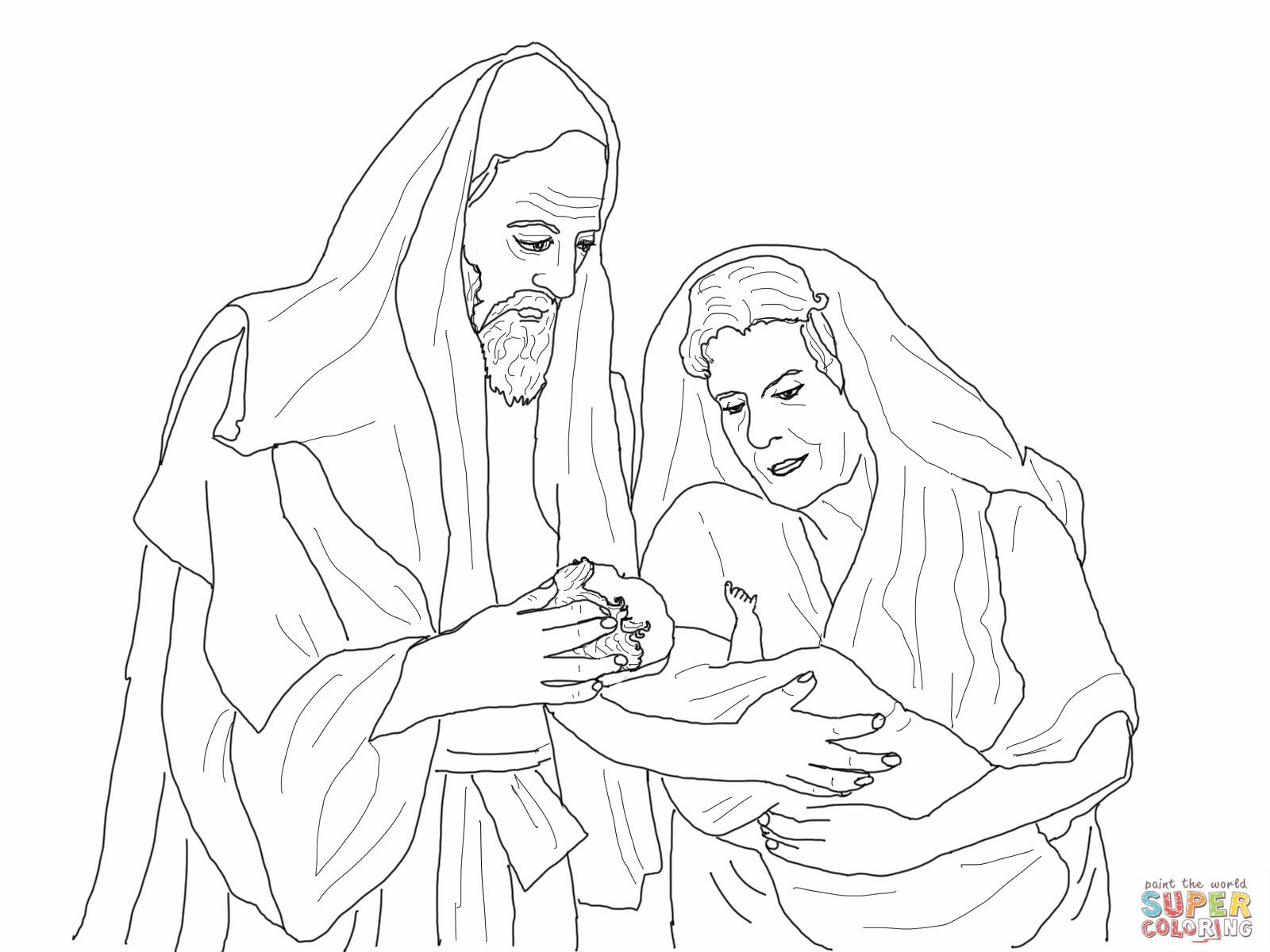 Abraham Sarah Coloring Pages